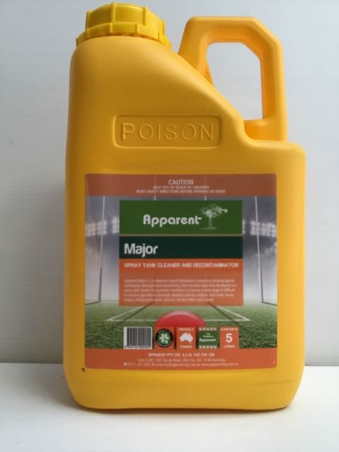 APPARENT MAJOR SPRAY TANK CLEANER 5LT