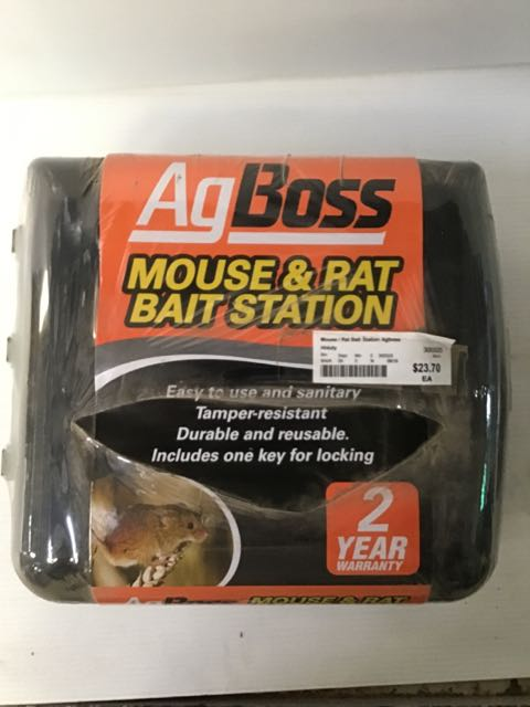 Mouse / Rat Bait Station Agboss H/duty