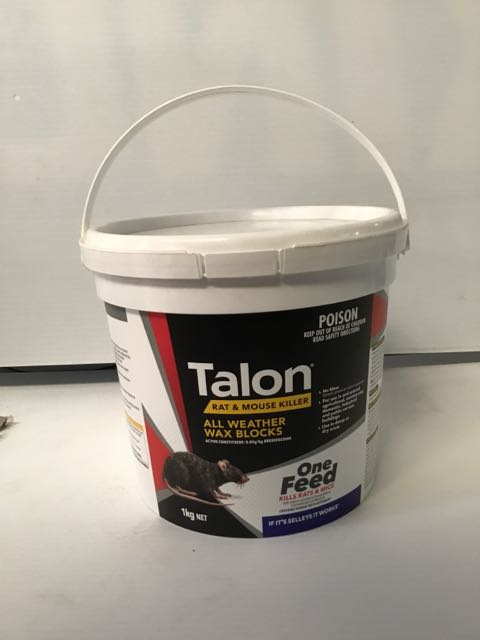 Talon Rodenticide Wax Block 1KG