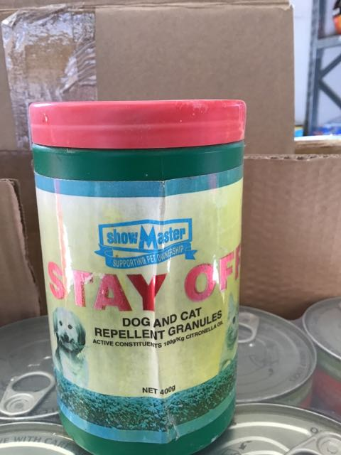 Stay Off Dog & Cat Repell 400g