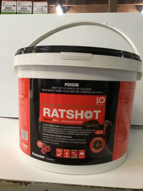 Ratshot Rapid Kill Block 8kg RED