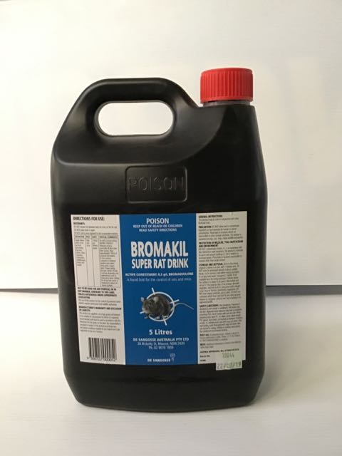 Bromakil Super Rat Drink 5 ltr